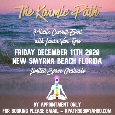 Private Consult Event with The Karmic Path